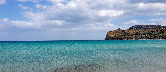 Cagliari: spiaggia del Poetto